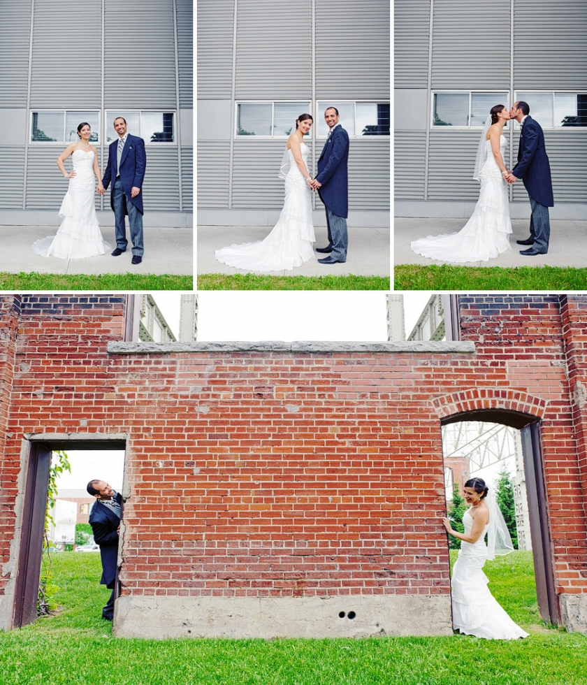 Montreal urban wedding photographer